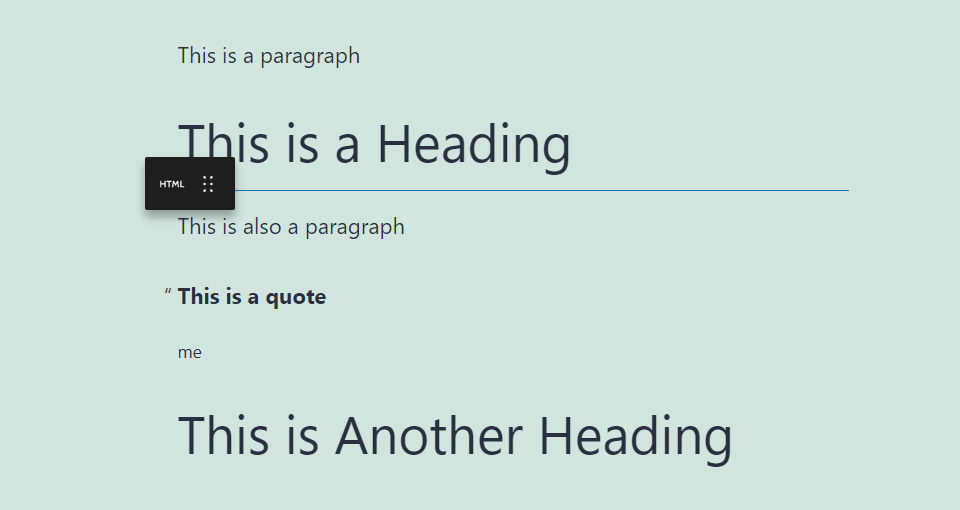 自定义HTML区块拖动