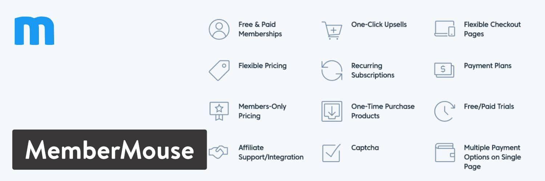 WordPress插件-MemberMouse