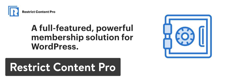WordPress插件-Restrict Content Pro
