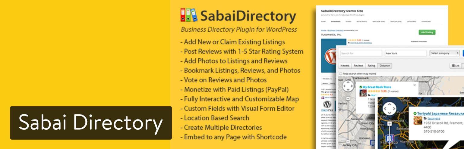 WordPress插件-Sabai Directory