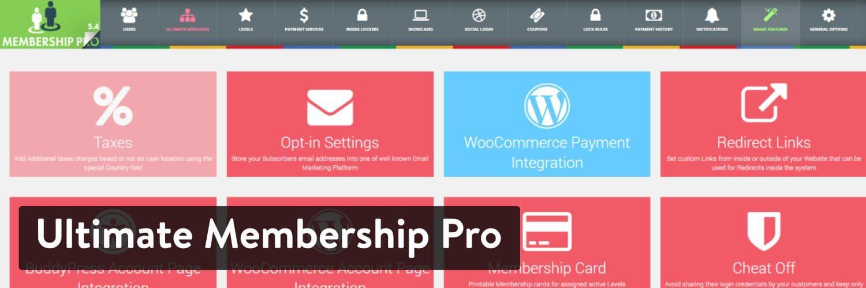WordPress插件-Ultimate Membership Pro