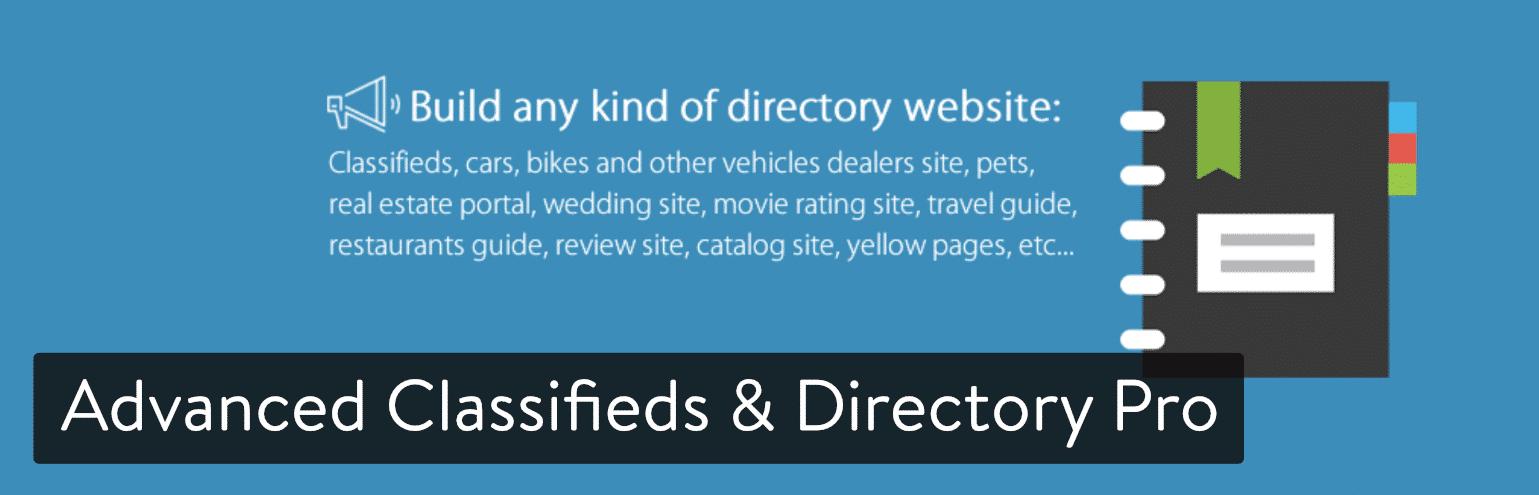 Advanced Classifieds & Directory专业版WordPress插件