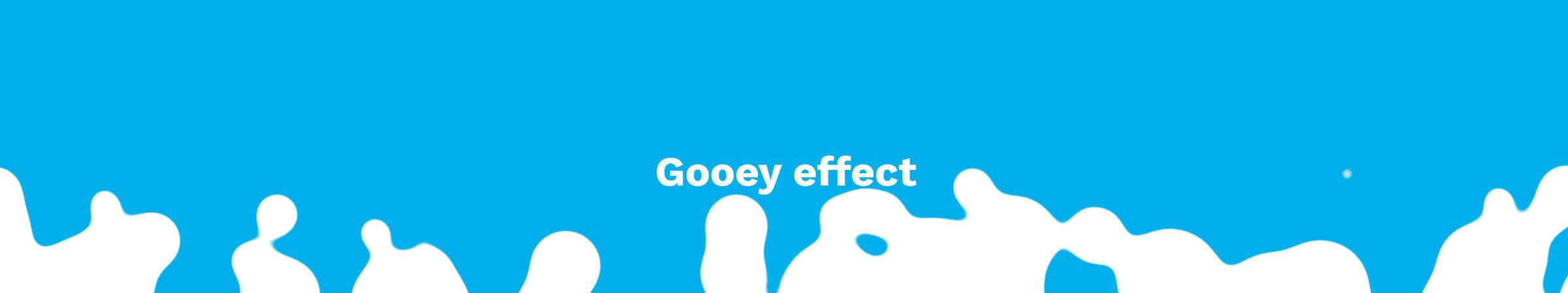 gooey effect动画效果