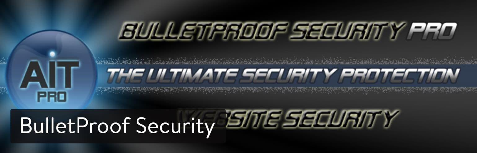 WordPress 插件-BulletProof Security