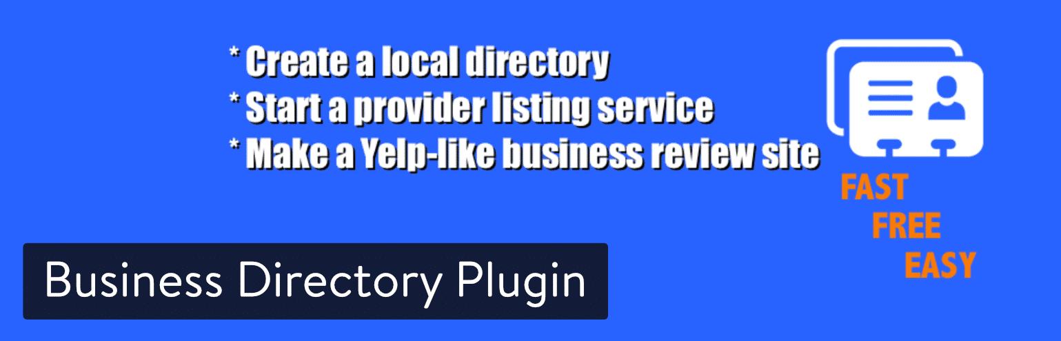 适用于WordPress的Business Directory插件