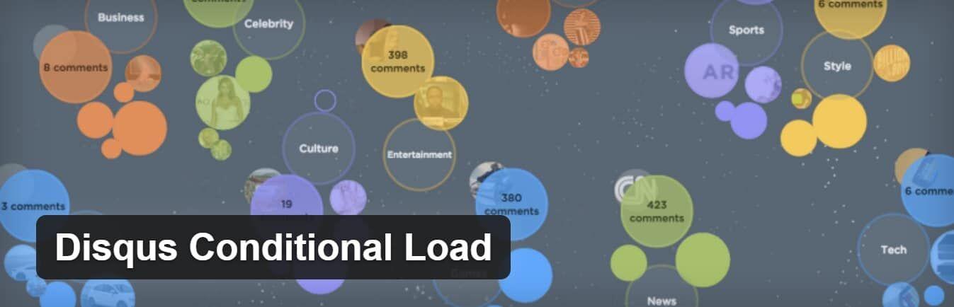 Disqus Conditional Load插件