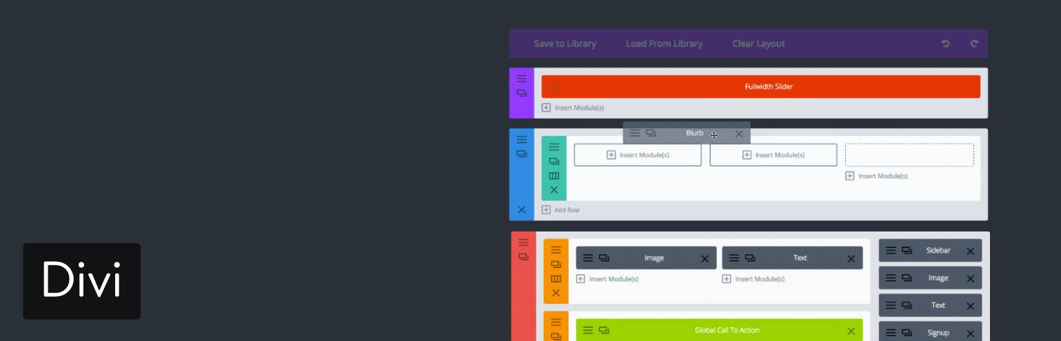 WordPress页面构建器-Divi