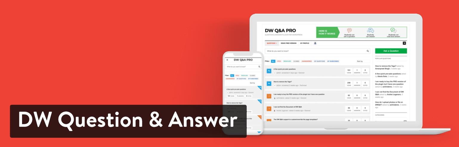 DW Question & Answer插件