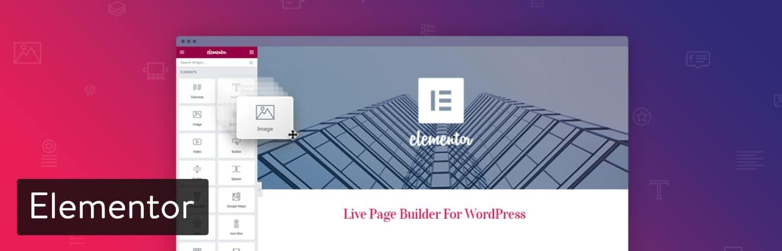 WordPress页面构建器-Elementor