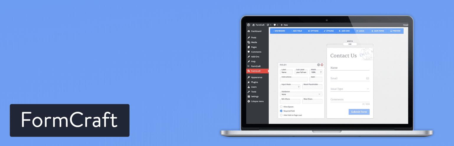 WordPress插件-FormCraft