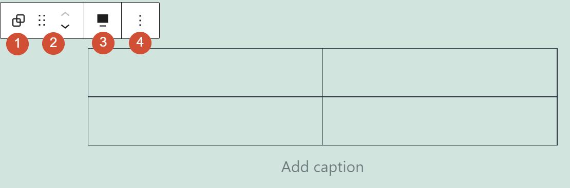 组区块工具栏功能说明