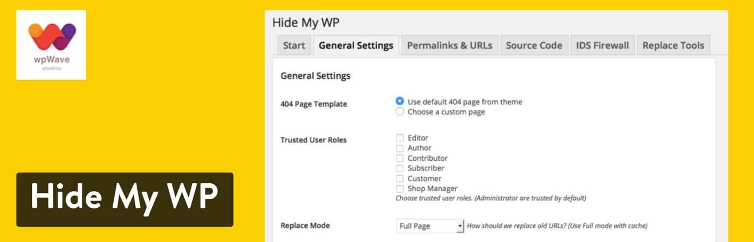 Hide My WP插件