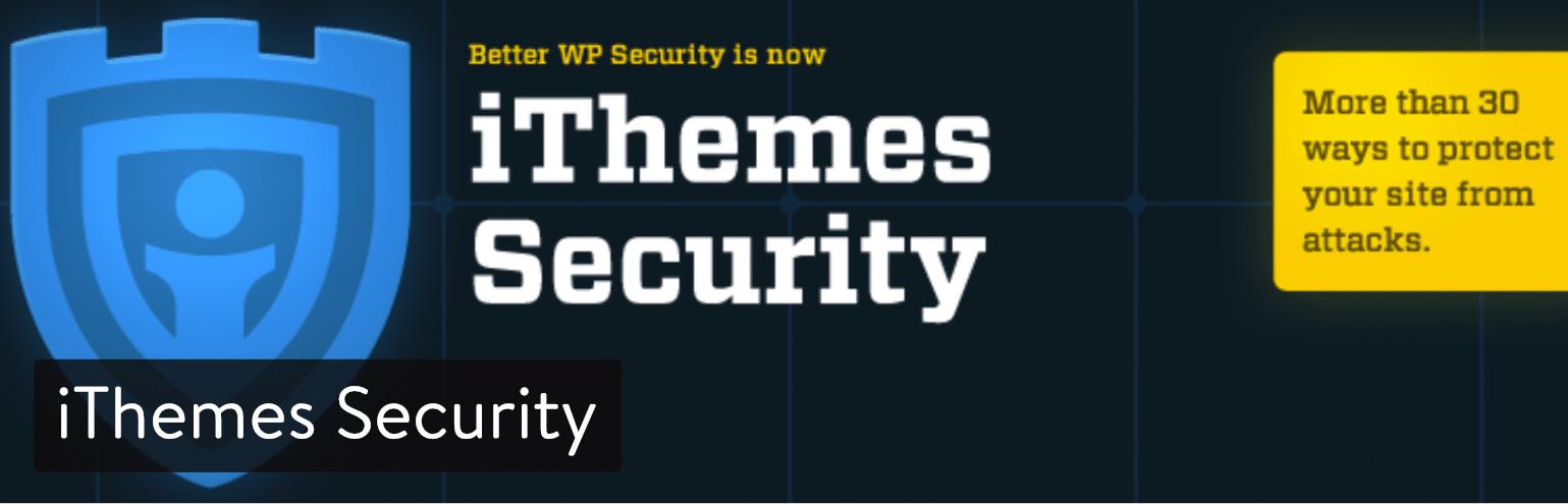 WordPress插件-iThemes Security