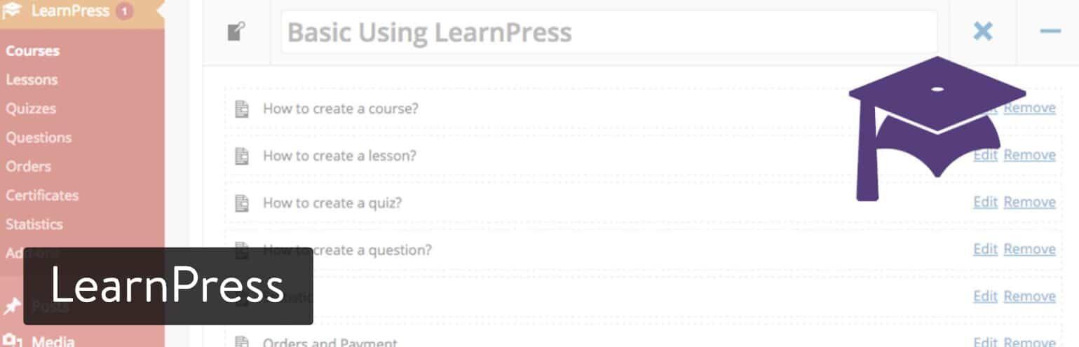 WordPress插件-LearnPress