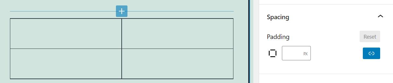 组区块边框距离设置