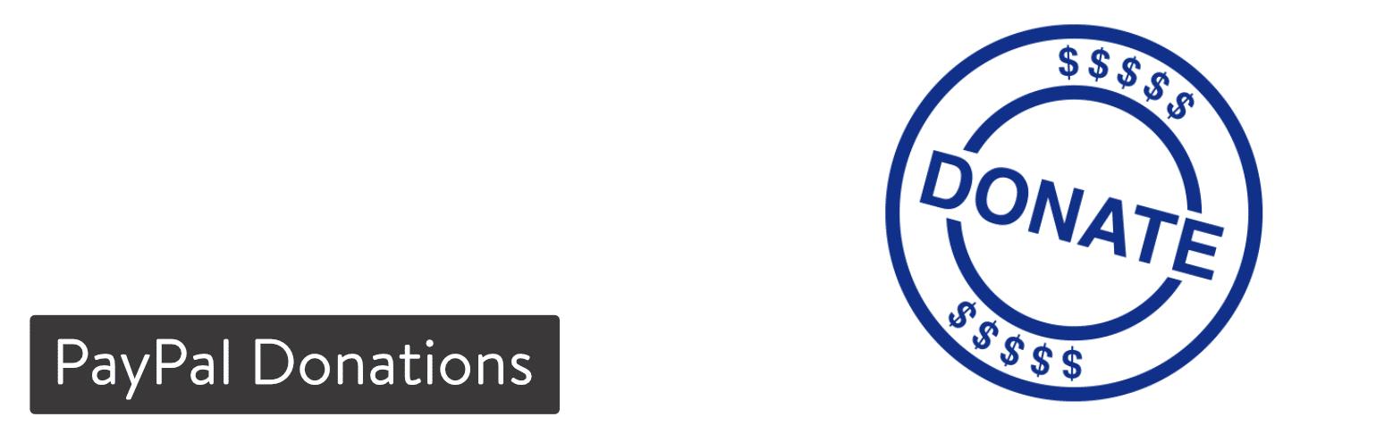 WordPress插件-PayPal Donations