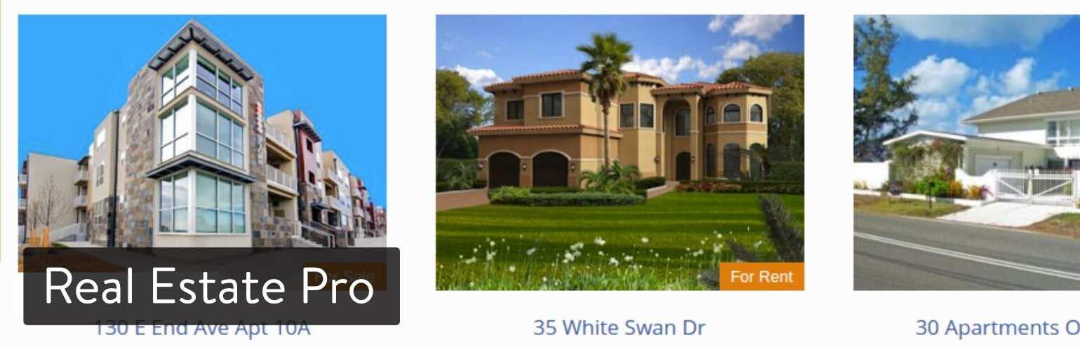 WordPress插件-Real Estate Pro