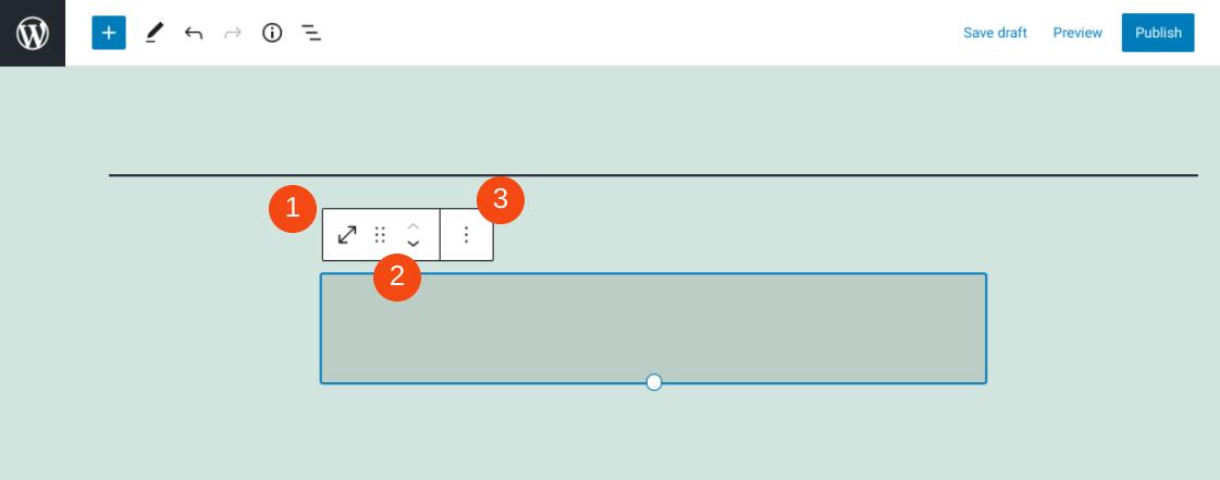 空格区块设置和选项
