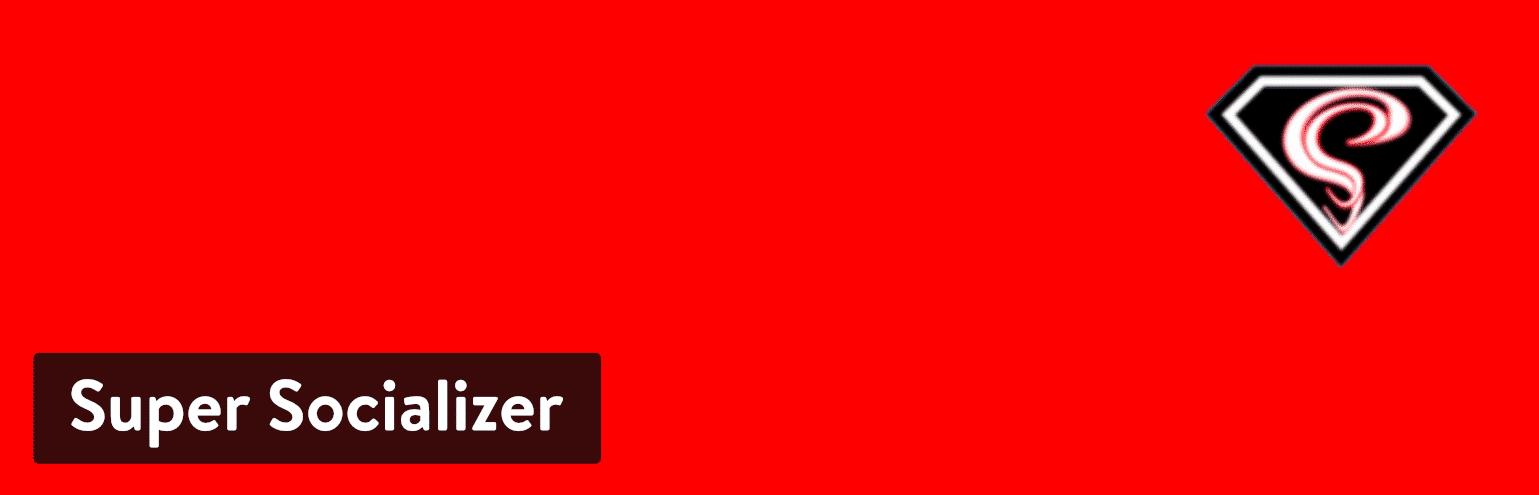 WordPress插件-Super Socializer