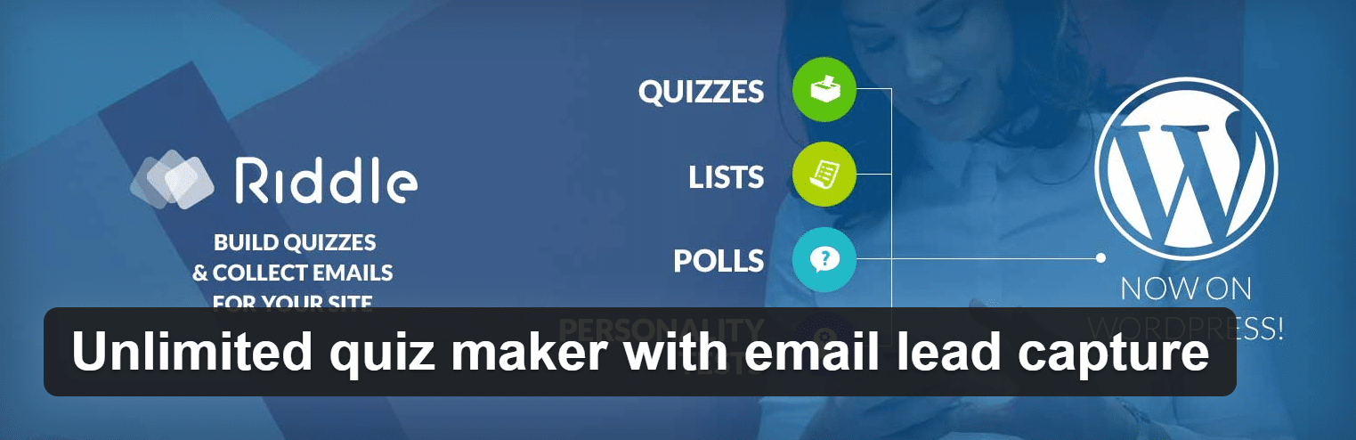 Unlimited Quiz Builder with Email Capture by Riddle