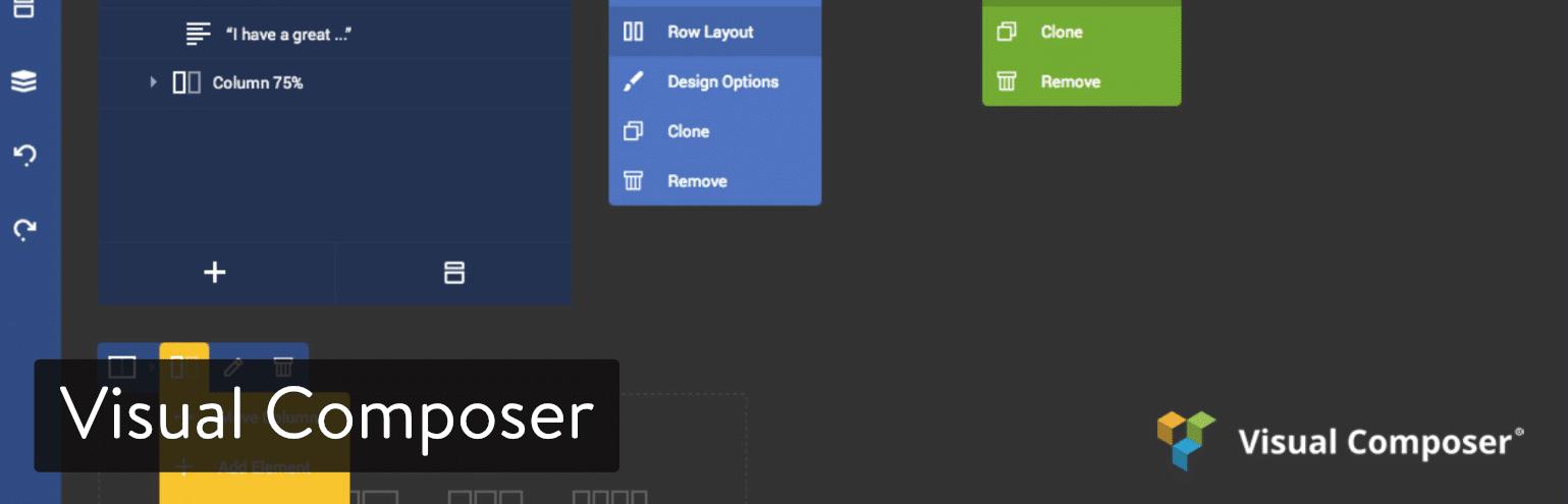 WordPress页面构建器-Visual Composer