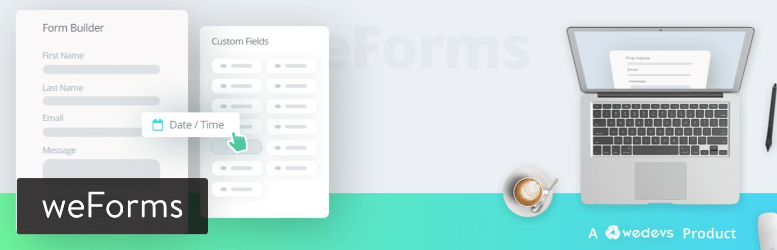 WordPress插件-weForms