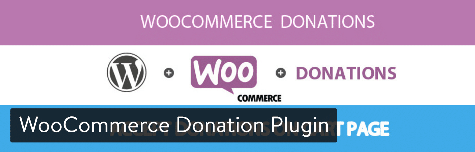 WooCommerce Donation插件