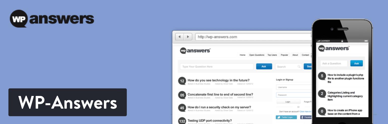 WordPress插件-WP-Answers