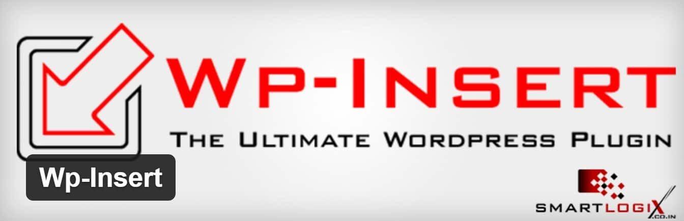 WP-Insert插件