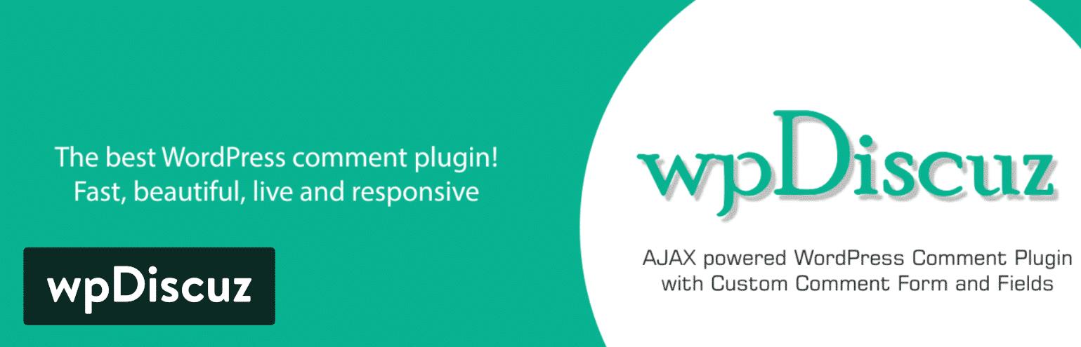 WordPress评论插件-wpDiscuz