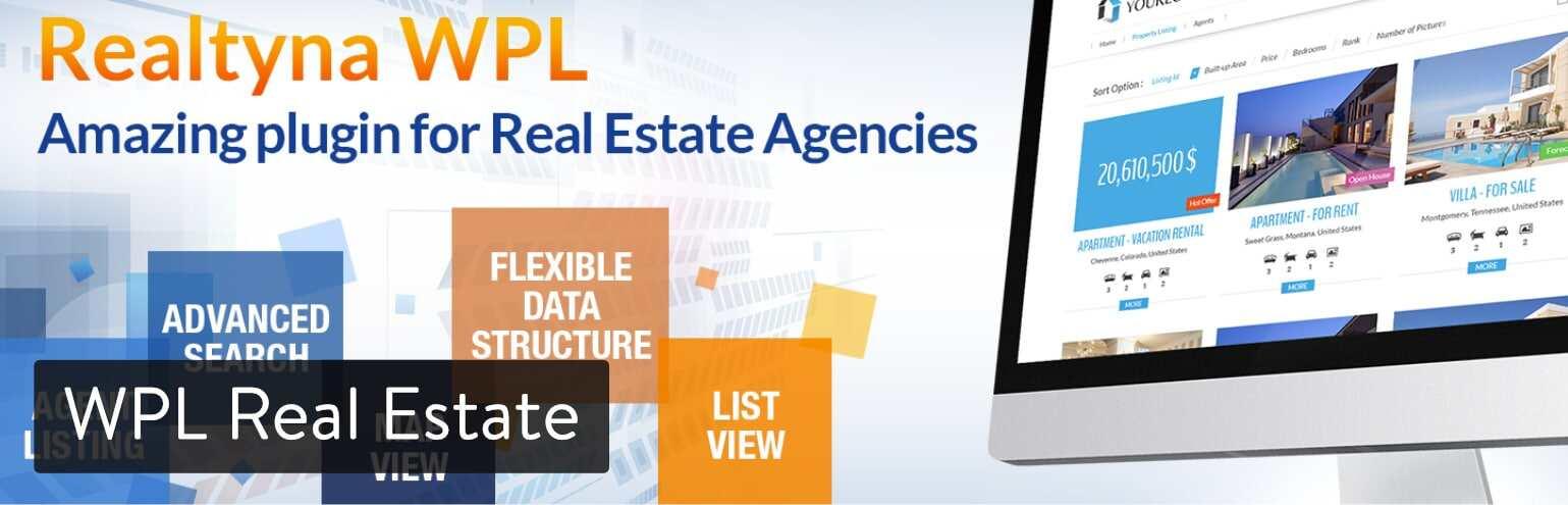 WordPress插件-WPL Real Estate