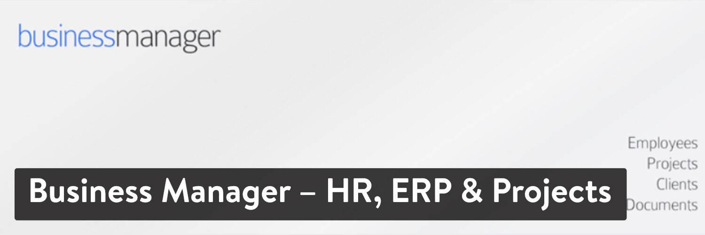 WordPress插件-Business Manager