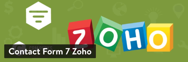 WordPress 插件-Contact Form 7 Zoho